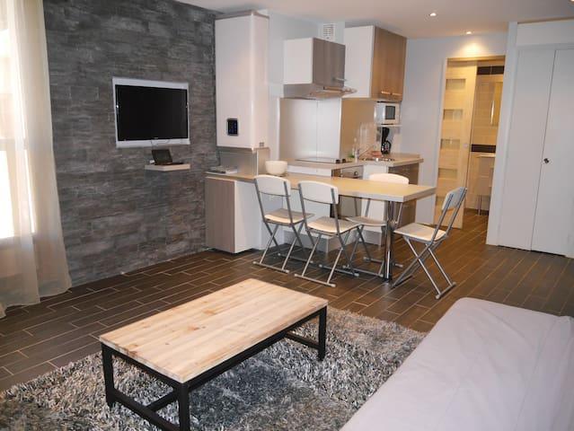 CHARMANT STUDIO AU COEUR DE VALBERG - Péone - Apartment