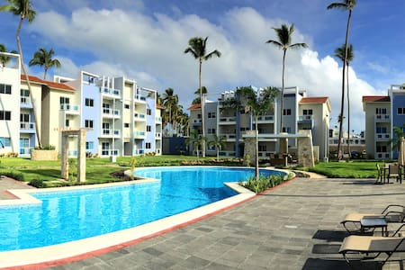 Modern Condo/Rooftop Patio/Steps from the Beach - Punta Cana - Lyxvåning
