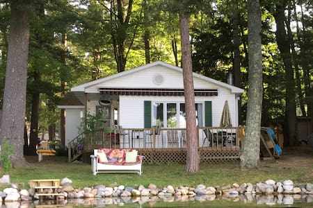Peaceful cottage on Spider Lake 15 mins from TC