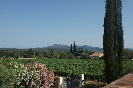 Provence: House for 4-6 people with view+sw. pool