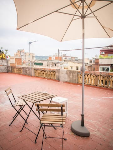 """Rooftop flat """"Carlson's Home""""  - Barcelona - Daire"""