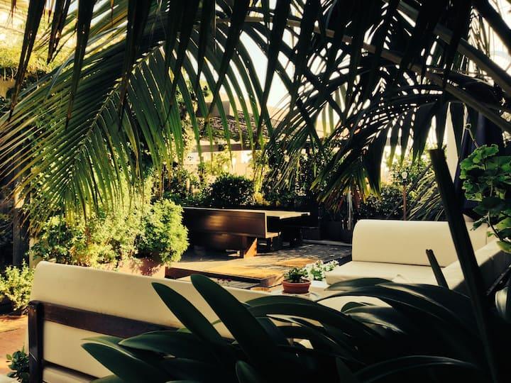 Apartment amb terrassa i vistes.