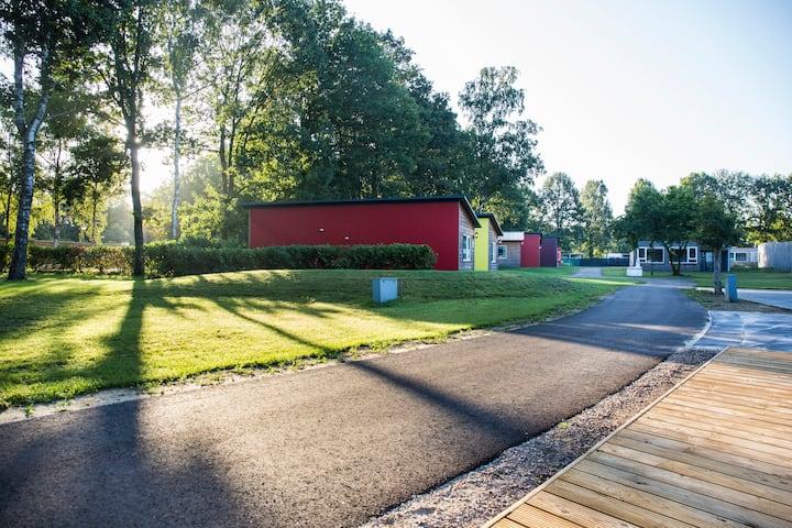 3. Hotelhuisjes in de natuur nabij Roermond.