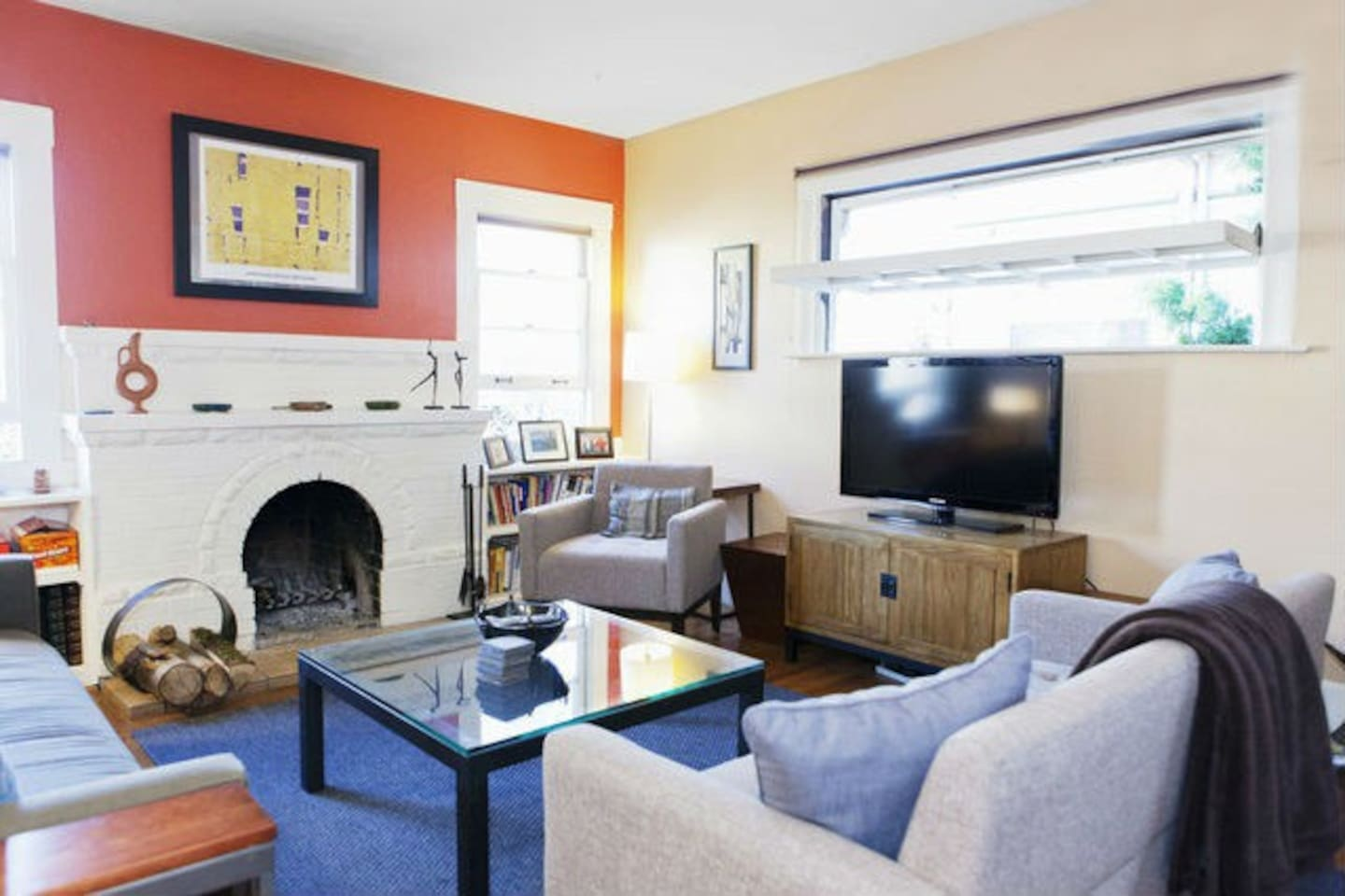 Bright 2BR House in Berkeley