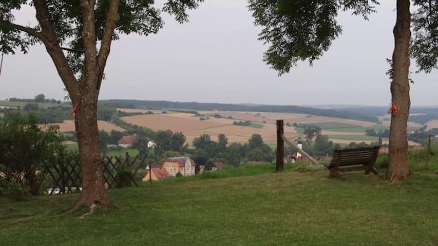 Weite und Ruhe unterm Kloster - Neresheim
