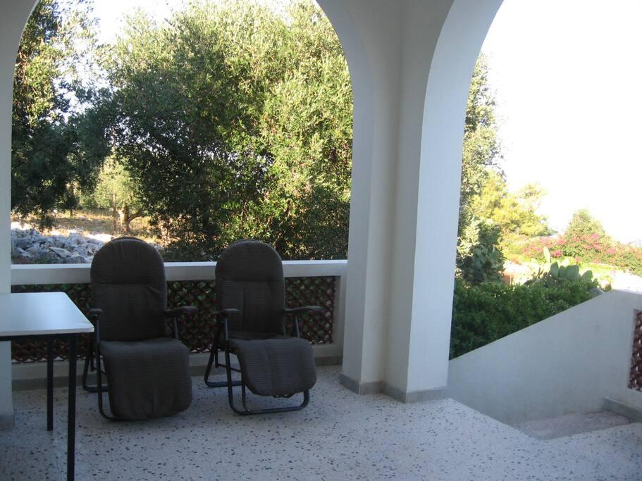 angolo della veranda