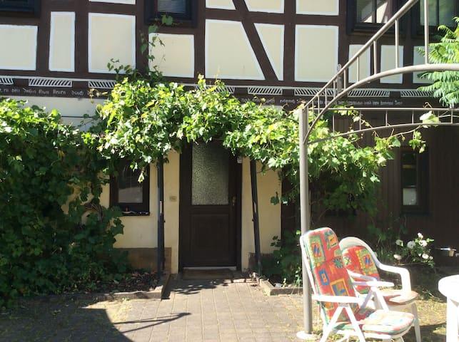Fachwerkhaus im Rapunzeldorf Amönau - Wetter (Hessen) - Huis
