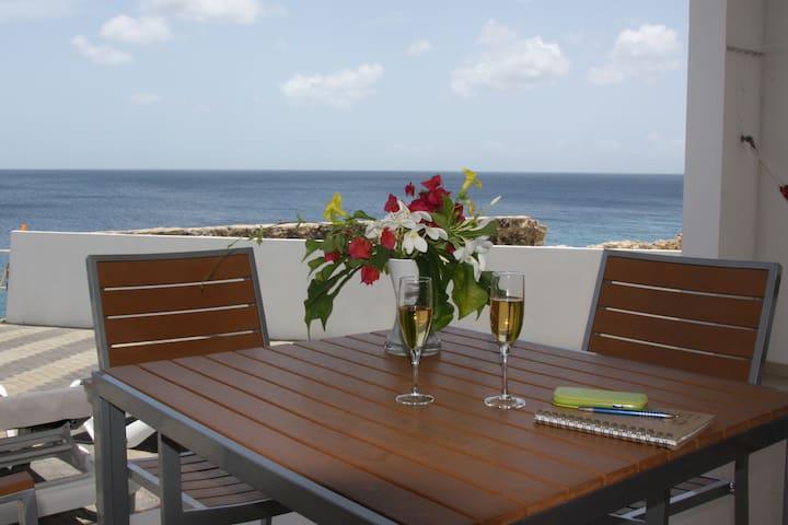 """Romantische Wohnung am Meer """"A"""" Erdgeschoss"""