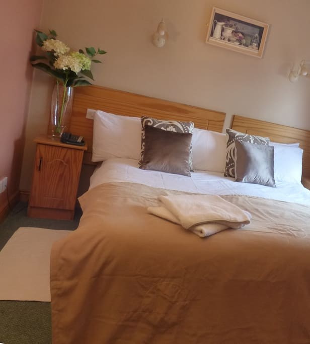 Our accommodation is clean, comfortable and welcoming