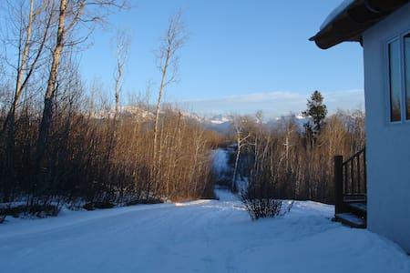 Mountain Retreat in Teton Valley ID - Tetonia - Blockhütte