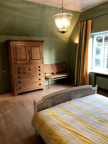 Level 2 - Room 4 - Double bed with wardrobe and in-build wardrobe