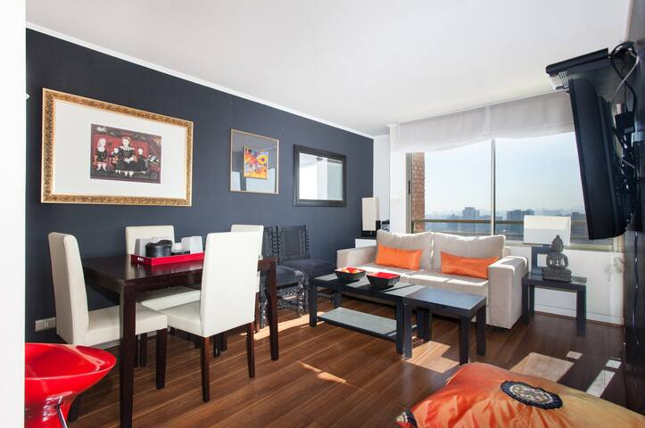 S1 Nice & cozy  2B-2B, great views! - Santiago - Wohnung