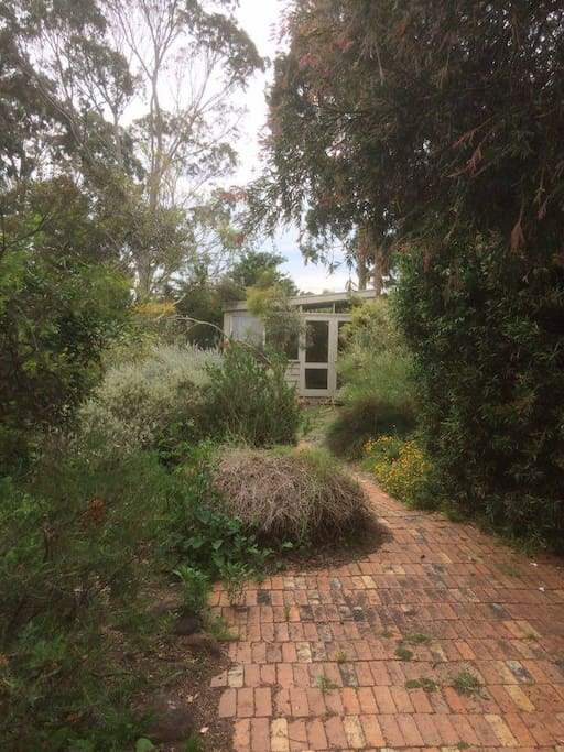 View of Bungalow (from main house)