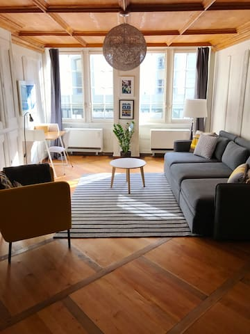 Middle of Bern's Old City - Berna - Apartamento