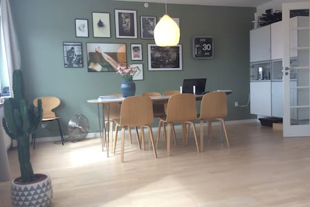 Atmospheric apartment near CPH - Glostrup - Apartemen