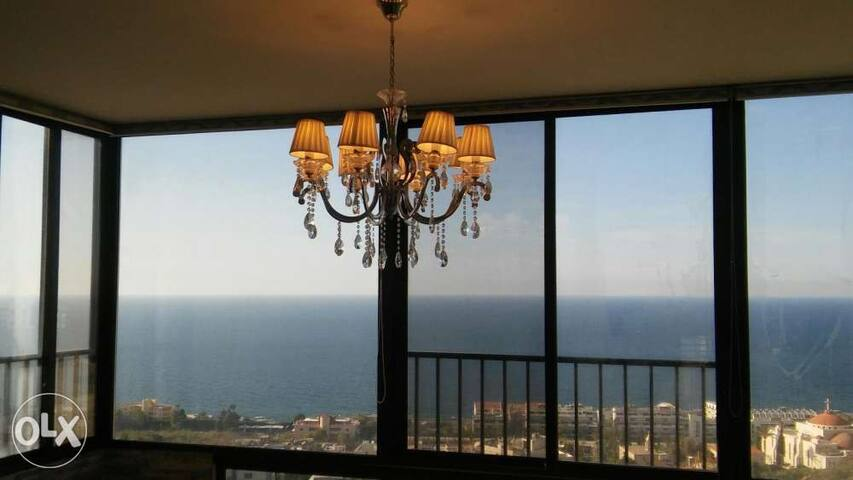 Luxury full Sea view condo near Jounieh in Safra - Jounieh