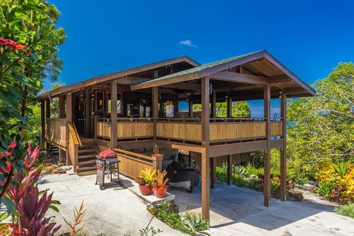 Unique View Cottage, Garden Setting, Holualoa - Kailua-Kona