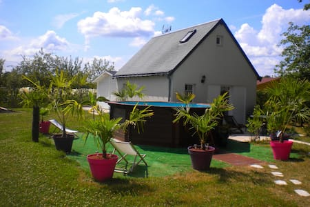 Villa Paradis - Independent house - Saint-Michel-sur-Loire - Bed & Breakfast