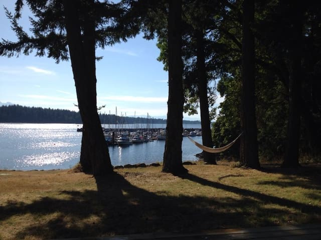 Gorgeous beachfront property!!! - Nanoose Bay - Maison