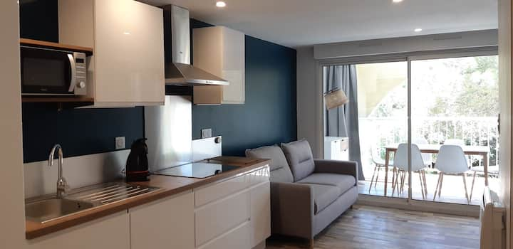 Superbe appartement proche plage Richelieu