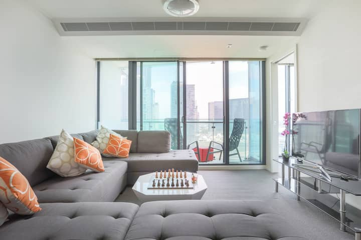 17th Floor Apartement in the Heart of Southbank!