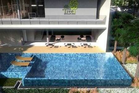 แอททรี คอนโดมิเนียม - Tambon Phlai Chumphon - Lägenhet