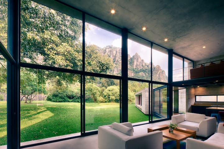 Architecture Award House in Tepoztlan 4 Rooms 6 Bd