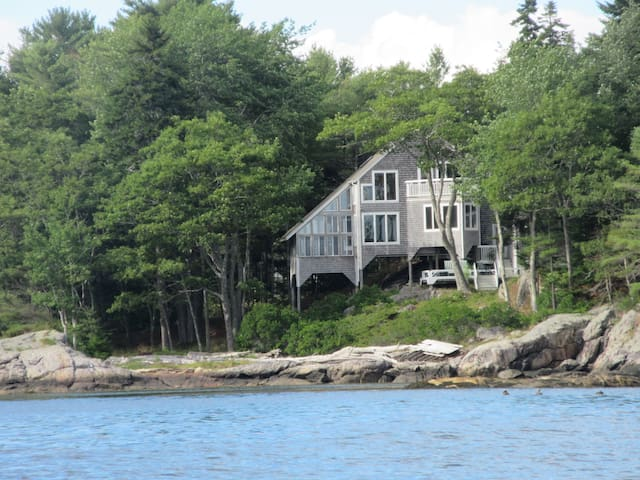 Oceanfront home on private island - Georgetown - Maison