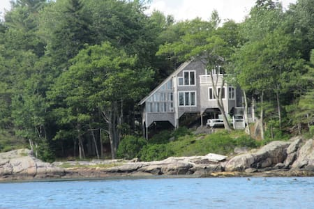 Oceanfront home on private island - Georgetown