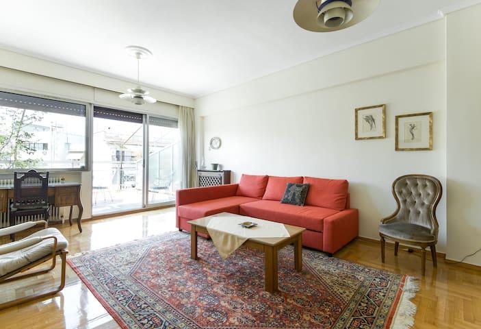 City center - Sunny apartment [98 sqm]