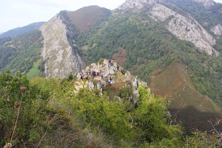 Casa en alquiler vacacional rural - Oriente de Asturias - Kondominium