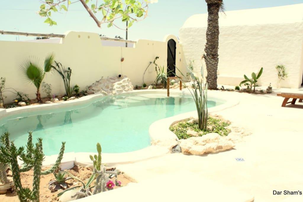 piscine 7m X 4m X 1,40 m