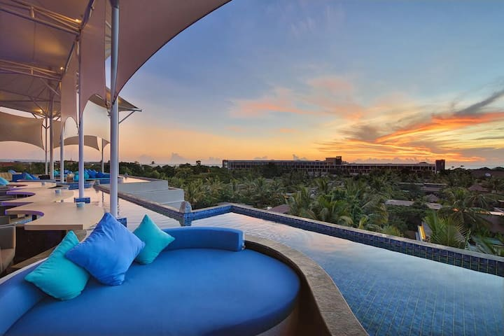 1BR Superior and RoofTop Pool @Main Seminyak Area