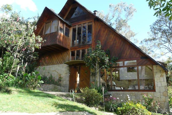 Casa en reserva forestal