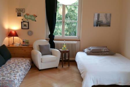 Gemütliches Zimmer im Park - Bern - Pis