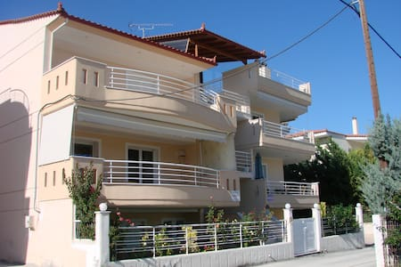 Cozy apartment next to the beach! - Vrachati
