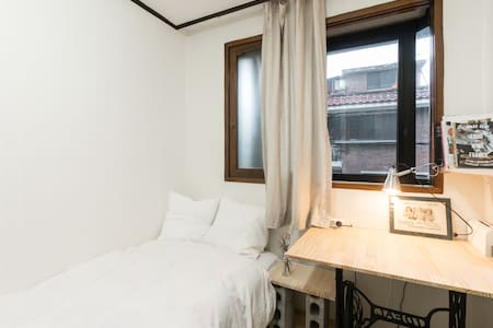 Cosy Single Room near Kyunghee/HUFS University - Dongdaemun-gu - Apartemen