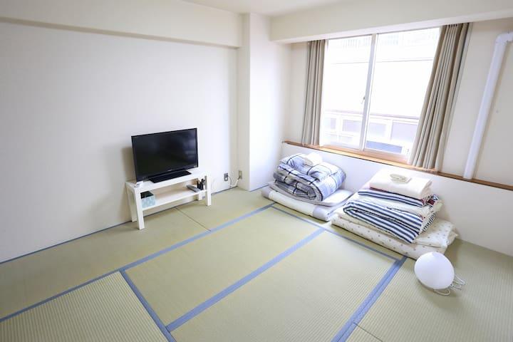 1min to Hommachi本町駅, 1min to Shinsaibashi心斎橋 (07) - Chūō-ku, Ōsaka-shi - Apartamento