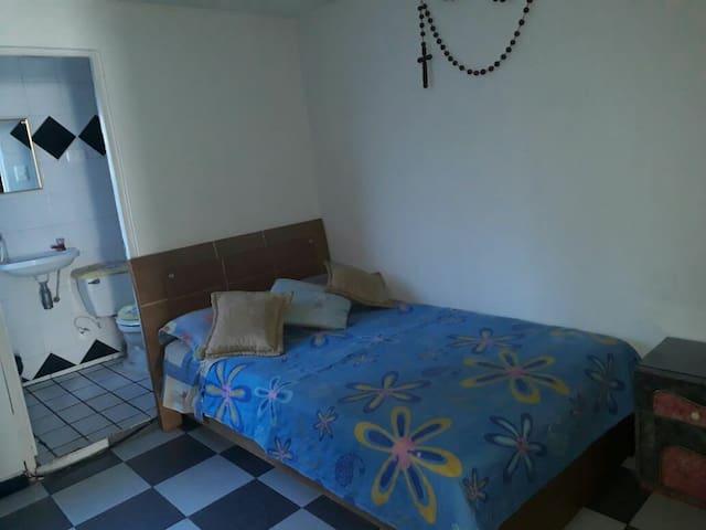 Comfy private room near Fundacion CardioInfantil