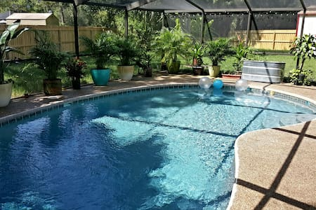 Quiet home with pool, central to all Tampa Bay! - Oldsmar