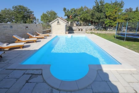 Two Bedroom Villa, in the countryside in Benkovac, Outdoor pool