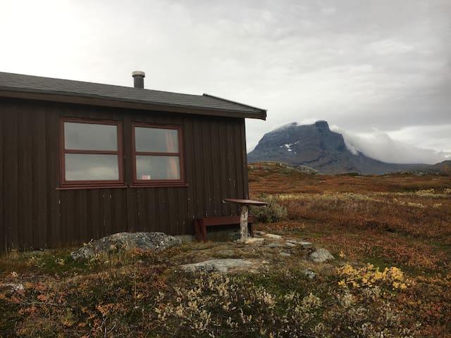 Fjellhytte i unike Dorro i Sulitjelma-fjellene
