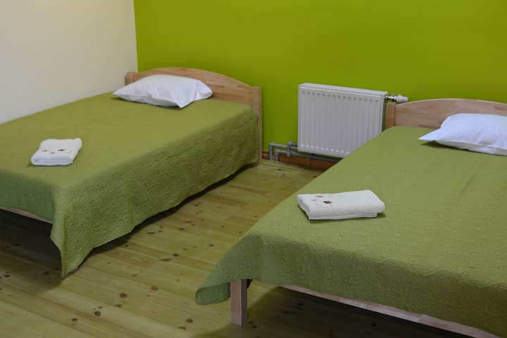 A room in Sigulda centre (2 beds + pull-out sofa) - Sigulda - Lägenhet