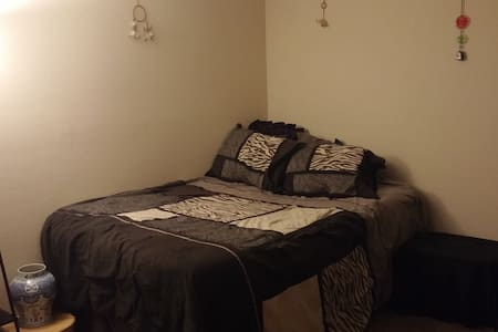 Clean and private bedroom and full bath - Wichita