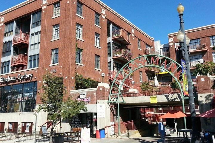 Cozy Downtown Condo - Salt Lake City - Apto. en complejo residencial