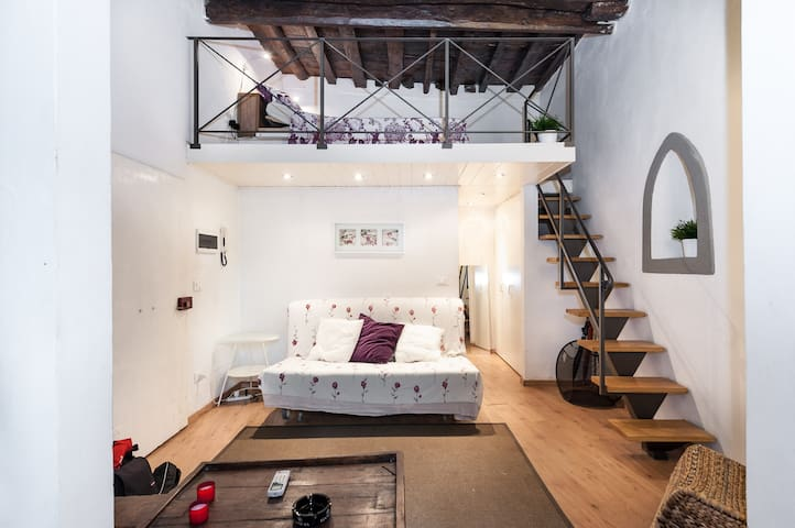 Serragli Flat - Loft in the Center