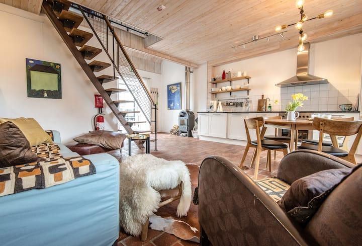 Havsnära, vackert boende Vik: lägenhet  Miranda