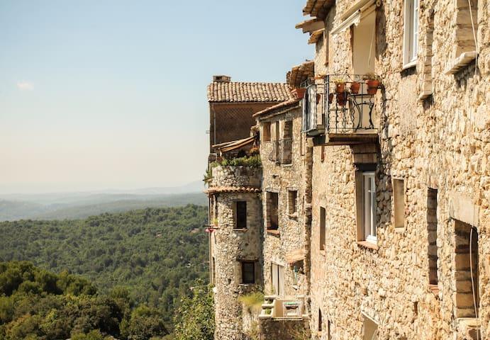 Duplex romantique vue panoramique - Tourrettes-sur-Loup - Apartment
