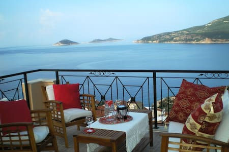 Villa with Stunning Sea Views - Kalkan