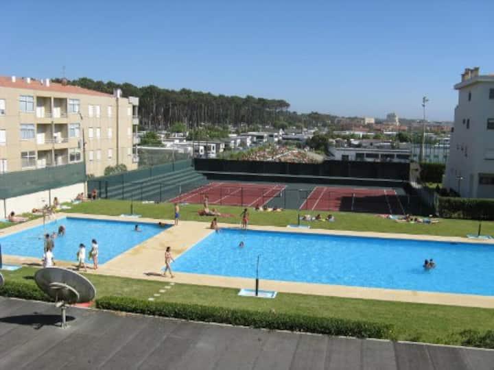 Apartamento em frente ao mar Azurara